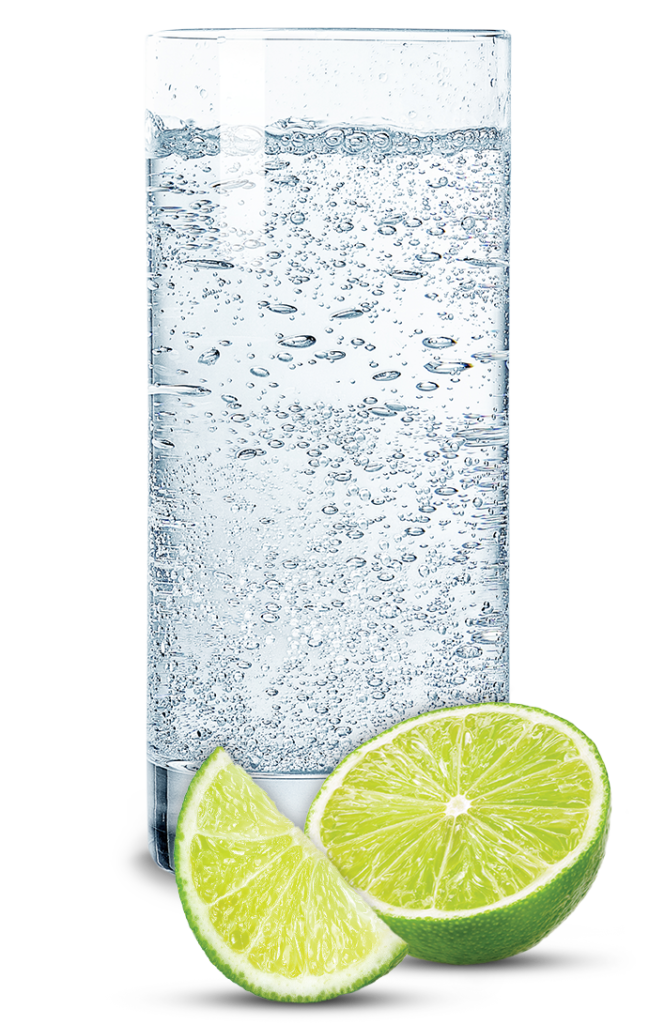 Highball Glass with Hard Seltzer